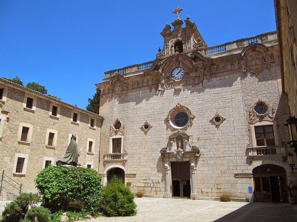 Het klooster van Lluc (Santuari de Lluc) op Mallorca